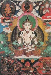 Mongolia Manivimala Buddhism postcard