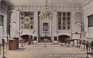 Declaration Chamber Independence Hall Philadelphia Pennsylvania