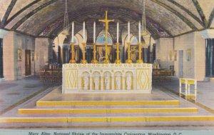 WASHINGTON DC , 1930-40s ; Mary Altar , Shrine of the Immaculate Conception
