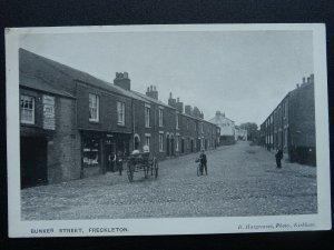 Preston FRECKLETON Bunker Street shows THE SHIP INN Old Postcard by B Hargreaves