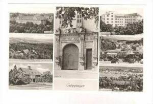 RP  Göppingen (Goppingen), Germany, 30-40s 7-view postcard