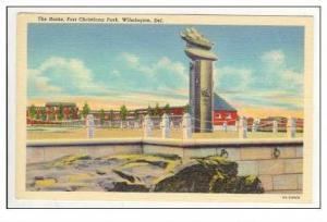 Rocks, Fort Christana park, Wilmington, Delaware, PU 1905