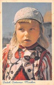 Dutch Costumes Marken Holland 1953