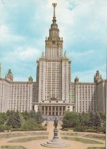 Russia Moscow Lomonosov State University On Lenin Hills
