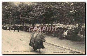 Nancy - Cortege History 1909 Raoul Duke - horse - Old Postcard