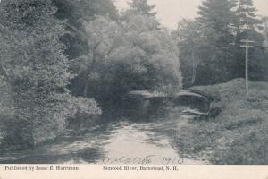 Sunccok River - Barnstead, Belknap County NH, New Hampshire - DB