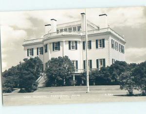 Old rppc KNOX MEMORIAL Thomaston Maine ME HM3014@