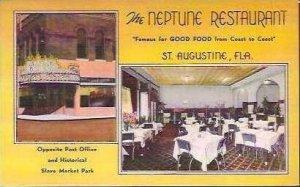 FL St Augustine Neptune Restaurant