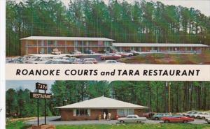 Virginia Roanoke The Roanoke Court & Tara Restaurant