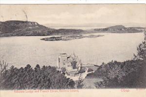 Scotland Oban Kilbowie Lodge and Fraoch Ellean Kerrera Gound 1907