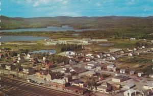 Bird's-eye view of White River,  Ontario,  Canada,  40-60s