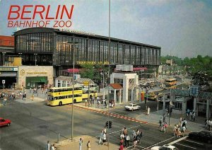 Berlin Bahnhof Zoo Auto Cars Promenade Station