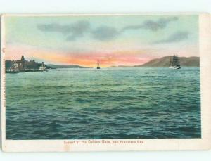 Pre-1907 GOLDEN GATE BEFORE THE BRIDGE WAS BUILT San Francisco CA AD8683