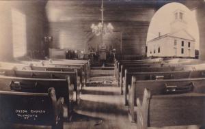 RP: Union Church Interior , PLYMOUTH , Vermont , 00-10s