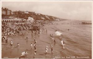 England Bournemouth Sands and East Cliff Photo