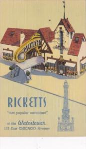 Illinois Chicago Ricketts Restaurant At The Watertower