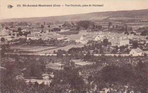 Saint-Amand-Montrond , France, 1900-10s : Vue Generale, prise de Montrond