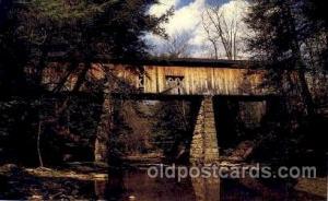Windndsor Mills, C.B. Ashtabula, CO. Ohio, USA Covered Bridge Bridges, Postca...