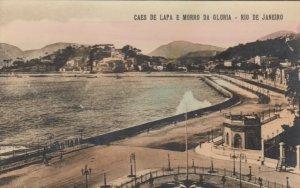 RP: RIO DE JANEIRO , Brazil , 1910s ; Caes de lapa E Morro da Gloria