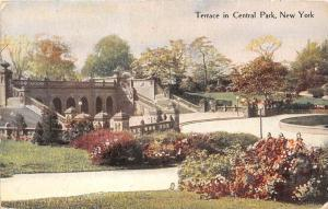 12362   New York City 1916   Terrace in Central Park