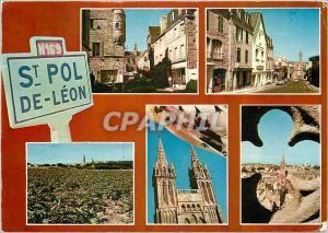 Postcard Modern France Saint Pol de Leon (Finistere)
