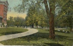 NORMAL , Illinois, 1910 ; Illinois State Normal University , Driveway