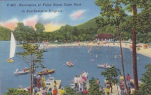 Virginia Recreation At Fairy Stone State Park