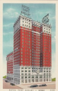 DETROIT , Michigan, 30-40s ; Hotel Fort Shelby