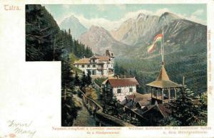 Czech Republic - Wildbad Kohlbach mit der Lomnitzer Spitze 02.24