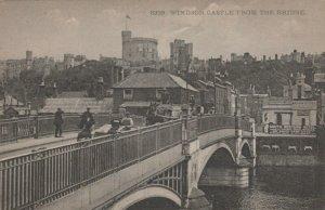 Berkshire Postcard - Windsor Castle From The Bridge  RS23597