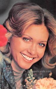 Olivia Newton Joh Movie Star Actor Actress Film Star Postcard, Old Vintage An...