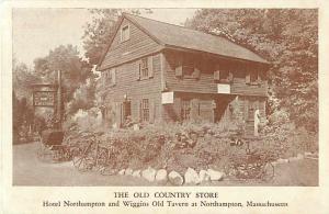 The Old Country Store & Tavern Northampton, Massachusetts, MA White Border