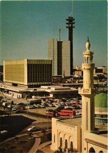 PC CPA KUWAIT, TELECOMMUNICATIONS CENTRE, Modern Postcard (B3787)