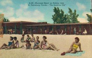USA - Municipal Beach on Holiday Isles St. Petersburg - Florida 03.03