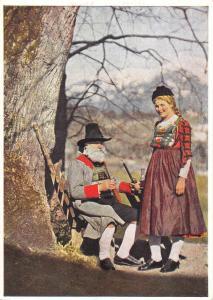 BR27476 Ofttirol deferteggen Tiroler landestrachten folklore costume