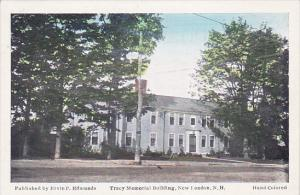 NEW LONDON, New Hampshire, 1900-1910's; Tracy Memorial Building