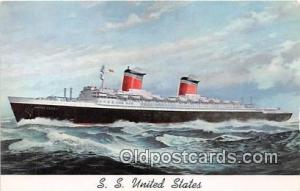 SS United States  Ship Postcard Post Card Postcard Post Card SS United States