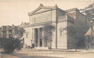 G34/ Chicago Illinois RPPC Postcard c1910 First Church of Christ Scientist 5