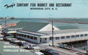 MOREHEAD CITY, North Carolina, 40-60s; Tony's Sanitary Fish Market & Restaurant