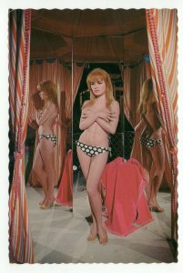 Postcard Movieland Wax Museum Brigitte Bardot PC5 87
