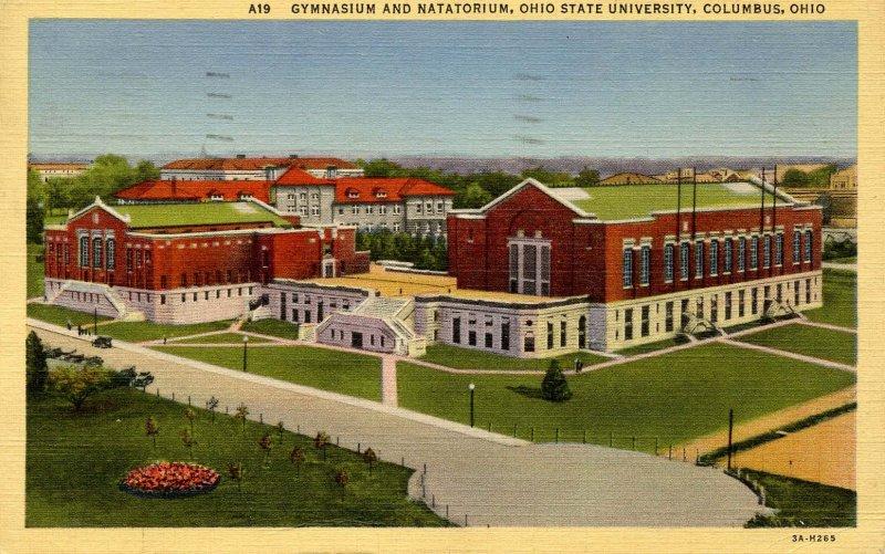 OH - Columbus. Ohio State University Gymnasium & Natatorium