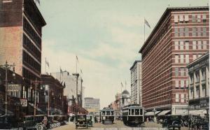 WINNIPEG , Canada, 1925 ; Portage Avenue Looking East