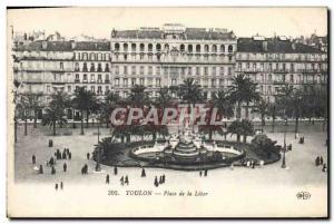 Old Postcard Tulun Place De La Liberte