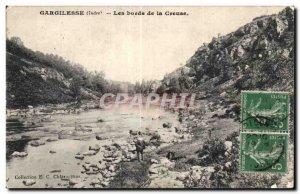 Gargilesse - The Banks of the Creuse - Old Postcard