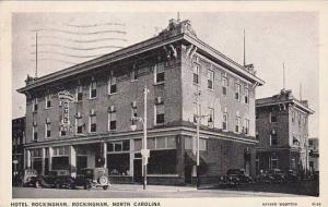 North Carolina Rockingham Hotel Rockingham 1939
