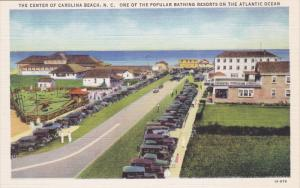 One of the popular bathing resorts on the Atlantic Ocean, The Center of CAROL...