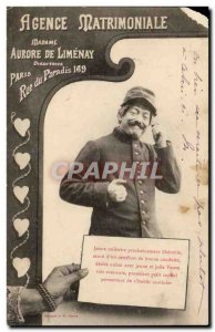 Humor - Agnece Matrimonale - Paris Paradise Street 169 - Old Postcard