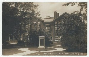 RPPC, Middlebury, Vermont, Early View of Middlebury Inn
