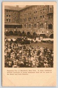 Ossining New York~Maryknoll Seminary Departure Day~Catholic Missionaries~1930s