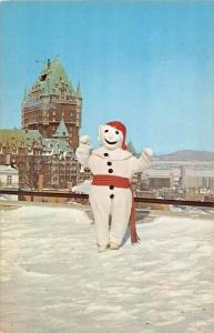 8607  Quebec   Snowman, Carnival De Quebec